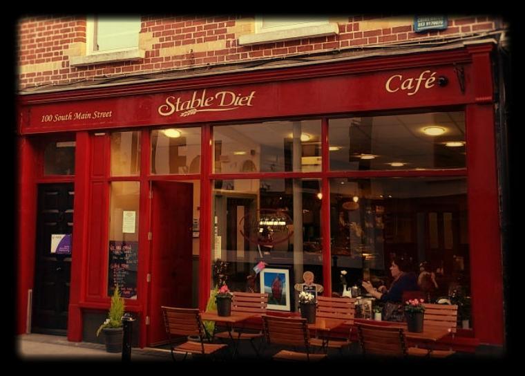 Regular customer - Stable Diet Cafe